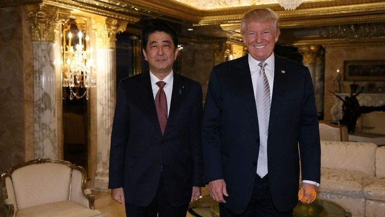 japan-s-prime-minister-shinzo-abe-meets-with-u-s-president-elect